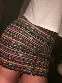 Tribal pencil skirt
