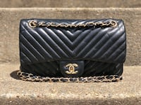 Chanel chevron bag  DO NOT ASK ME IF THIS IS AUTHENTIC.......for 100 please use your common sense.  Falls Church, 22043