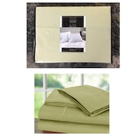 1000 Thread Count Luxury Egyptian Cotton Rich Sateen Sheet Set,4pcKing