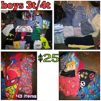 Boys 3t/4t(43items) Tulsa, 74126