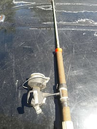 Fishing reel and rod Antioch, 60002