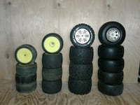 RC tires and wheels