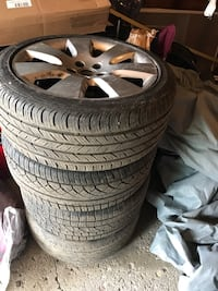 Mercedes-Benz C300 tires and rims 18 inch ..obo.. Detroit, 48228