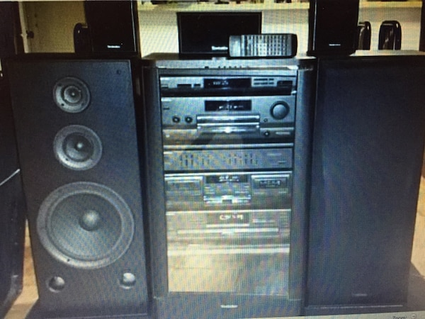 Used Technics Sd S935 Stereo System For Sale In Fleming