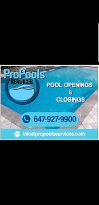 Swimming pool installation Mississauga