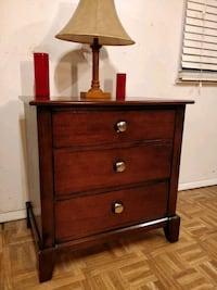 Nice big wooden night stand with 3 drawers in very Annandale, 22003