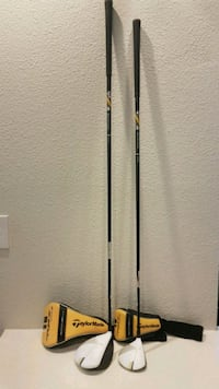 Taylormade golf driver & #3 wood with covers. Bran Spring, 77382