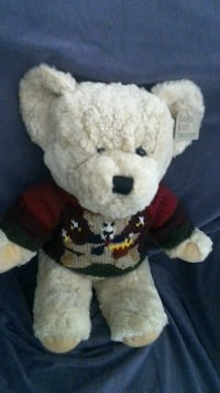 Vintage Teddy Bear with Hand-knitted Sweater Las Vegas