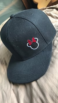 Minney Mouse Solid Black Fitted Baseball Hat Maple Ridge, V2X 6E6