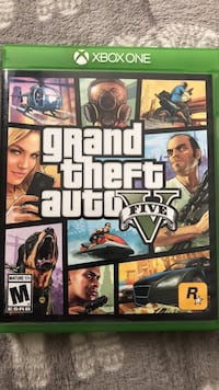 Grand Theft Auto Five Xbox one game case Lakewood, 90713