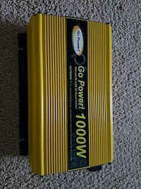 Go Power 1000watt inverter  Sherwood Park, T8A 6M5