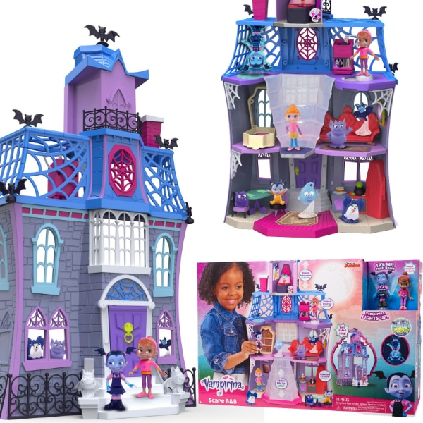 Vampirina Scare B&B Play House and Backpack Set (New) 0dbf65af-4e41-4b53-b0d4-5c8753744a6c