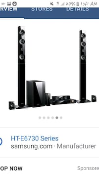 Samsung 3D blueray wireless home theater
