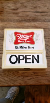old bar open/ closed sign