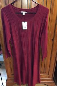 NWT Dana Buchman Knit Sweater Dress Perfect For Holiday Haverhill, 01832