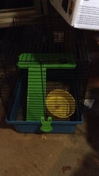 green and blue pet cage Murrieta, 92562
