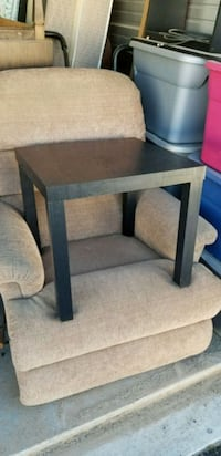 Black End Table (Parsons Coffee Table) Las Cruces