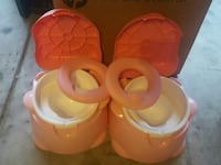 two pink-and-white potty trainers San Antonio, 78223