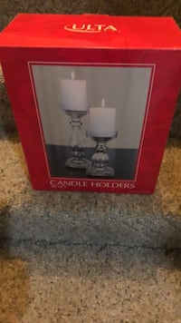 Set of 2 candle holders Silver Spring, 20905