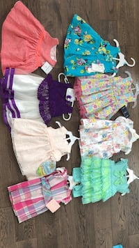 New dresses 3-6 months  White Rock, V4B 4T6
