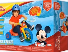 Mickey Mouse tricycle
