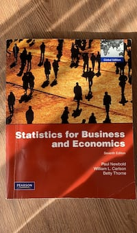 statistics for business and economics Kadıköy, 34734