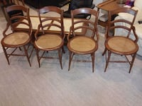 Four Cane Seat Wood Arm Chairs Immaculate  Lancaster, 17601