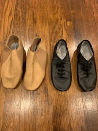 Both pairs for $10! Jazz dance shoes for girls Teaneck, 07666