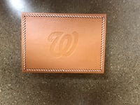 Washington Nationals leather organizer Annandale, 22003