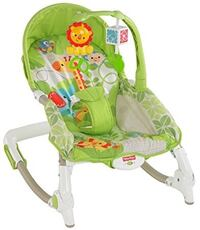 Baby's green and white bouncer/rocking chair Brampton
