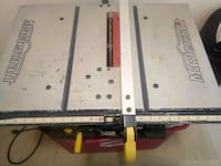 MasterCraft table saw Edmonton, T5T