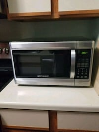 stainless steel and black microwave oven Fox River Grove, 60021