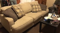 Gray fabric 3-seat sofa Bakersfield, 93309