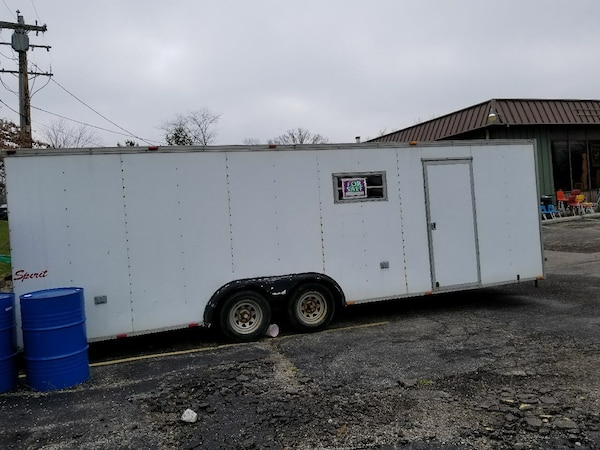 Stupendous Used 24 Ft Enclosed Car Haulwr Trailer For Sale In Goshen Letgo Wiring Digital Resources Helishebarightsorg