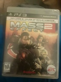 PS3 Mass Effect II With Game Case 2378 mi