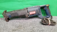 Ryobi RJ162V Corded Electric Variable Speed Reciprocating Saw 73107