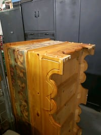 Extra large pine trunk