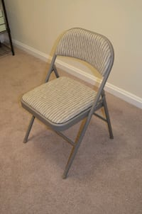 Folding metal chair with padding Alexandria, 22302