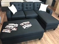 Black reversible sectional small space Fresno, 93728