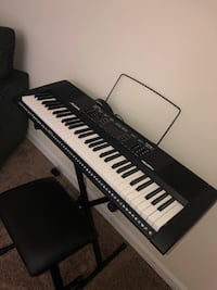Black and white electronic keyboard Snellville, 30078