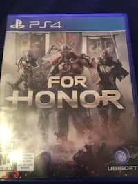 For Honor Ps4 Winnipeg, R2X 0B9