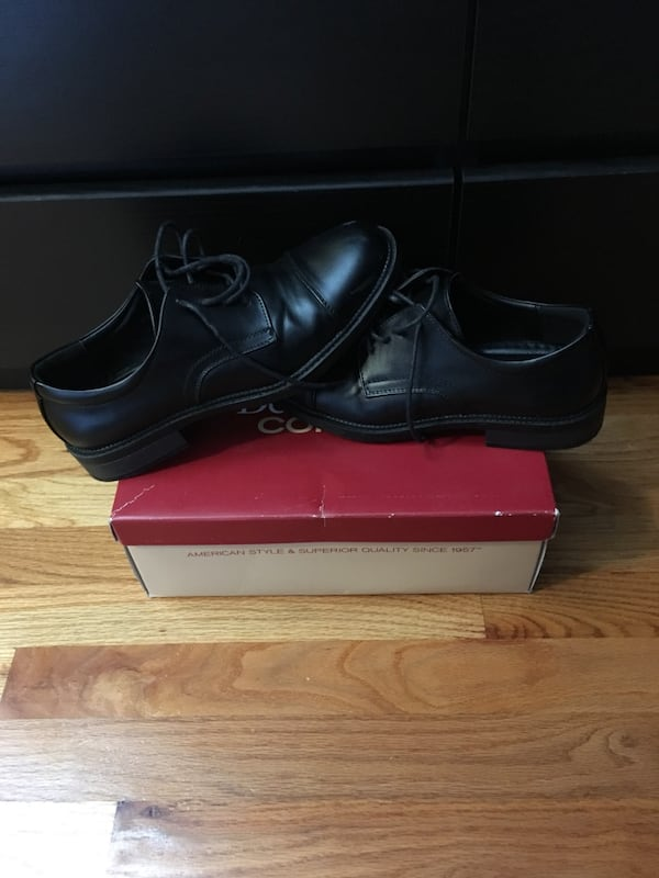 Black Leather Dress Shoes 50c1f11d-1bcc-4148-a323-6e7a916c992a