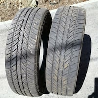 4 summer tires in good condition  Montreal, H8P 2J7