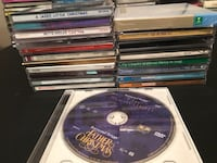 Assorted Lot of 20 CDs Christmas and Christian  Jacksonville, 32216