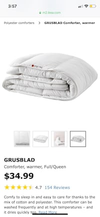 IKEA comforter and duvet cover Frederick, 21703