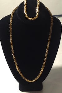 Gold Chain With Bracelet Glen Burnie
