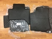 Brand new 2016 Toyota Tacoma rubber floor mats Cambridge, N1R 5S2
