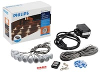 Philips Aurelle 10 LED Deck Light Kit, Blue Kitchener