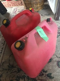 Two Large Gas Cans