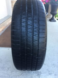 Only one tire size 225/50/R17 Brampton, L6R 3M6